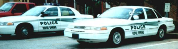 Ridge Spring Police Cars